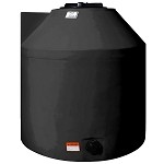 305 Gallon BLACK Vertical Tank Water Only