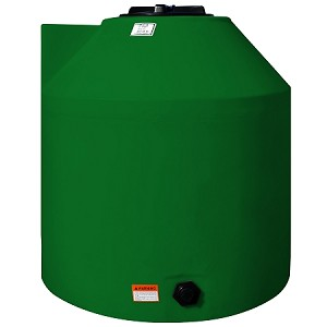 305 Gallon GREEN Vertical Tank Water Only