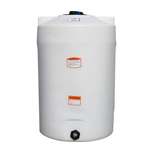 100 Gallon Vertical Tank